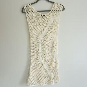 Sparkle & Fade Crochet Dress